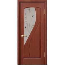 Дверь шпонированная Комфорт Дионит ДО темный анегри