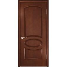 Дверь шпонированная Комфорт Жемчужина 2 ДГ анегри шоколад