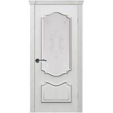 Дверь шпонированная Комфорт Рубин 2 ДО дуб молочный
