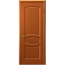 Дверь шпонированная Комфорт Топаз ДГ темный анегри