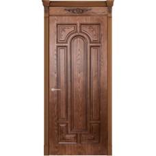Дверь шпонированная Verda Арес  ДГ Орех натуральный-2