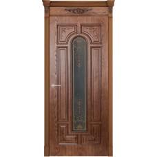 Дверь шпонированная Verda Арес  ДО Орех натуральный-2