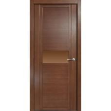 Дверь шпонированная Verda H-I  ДО дуб палисандр