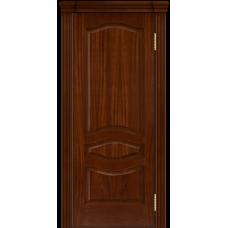 Ульяновская дверь шпонированная ЛайнДор Амелия  ДГ Красное дерево
