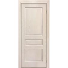 Ульяновская дверь шпонированная ЛайнДор Калина  ДГ Ясень жемчуг