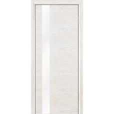 Ульяновская дверь шпонированная ЛайнДор Камелия К-5 ДО Ясень белый