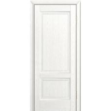 Ульяновская дверь шпонированная ЛайнДор Кантри-К ДГ Ясень белый