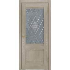 Дверь экошпон ЛУ 52 Дуб серый