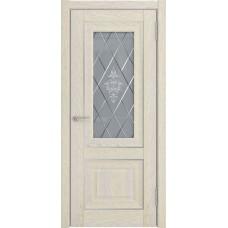 Дверь экошпон ЛУ 62 Дуб айвори