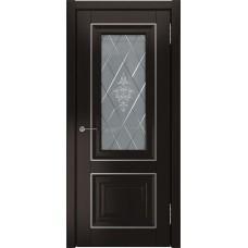Дверь экошпон ЛУ 62 Дуб темный