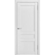 Дверь экошпон Luxor K-2 ДГ белый снег
