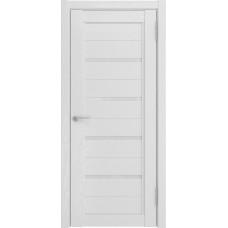 Дверь экошпон Luxor LH-4 белый снег