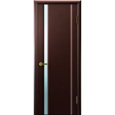 Дверь Luxor шпон Легенда Синай 1 ДО венге стекло белое