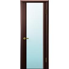 Дверь Luxor шпон Легенда Синай 3 ДО венге стекло белое