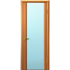 Дверь Luxor шпон Легенда Синай 3 ДО светлый анегри T34 стекло белое