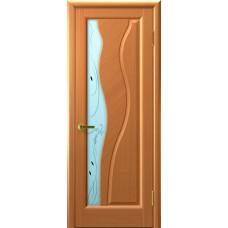 Дверь Luxor шпон Легенда Торнадо ДО светлый анегри Т34 со стеклом