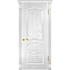 Дверь Luxor Грация ДГ дуб белая эмаль