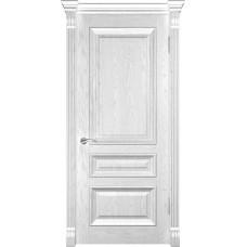 Ульяновская дверь Luxor Фараон-2 ДГ дуб белая эмаль