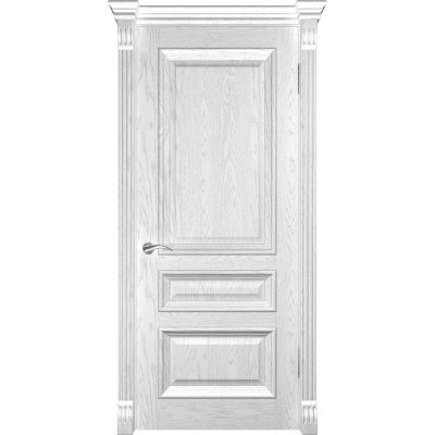 Дверь Luxor Фараон-2 ДГ дуб белая эмаль