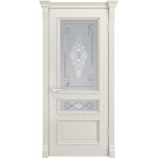 Дверь Luxor Гера-2 ДО дуб RAL 9010 со стеклом