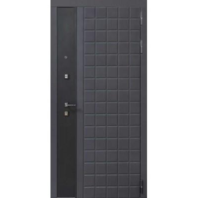 Дверь входная Luxor 34 серый муар