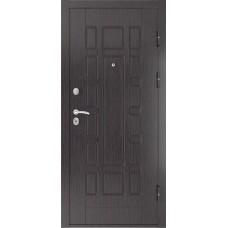 Дверь входная Luxor 5 черный шагрень