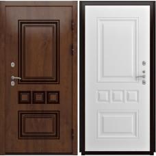 Дверь входная Luxor Аура винорит белый