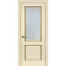 Дверь экошпон Мариам Мурано 1 ДО Магнолия патина золото