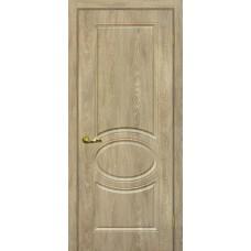 Дверь ПВХ Мариам Сиена 1 ДГ Дуб песочный