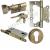 Ключ-завертка матовая бронза +1 562 р.