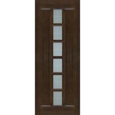 Дверь массив сосны ПМЦ М11 ДОФ темный лак 800x900x2000mm