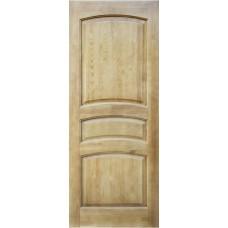 Дверь массив сосны ПМЦ М16 ДГФ светлый лак