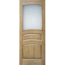 Дверь массив сосны ПМЦ М16 ДОФ светлый лак