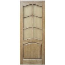 Дверь массив сосны ПМЦ М7 ДОФ светлый лак