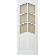 Дверь массив сосны ПМЦ М7 ДПОФ под остекление неокрашенная