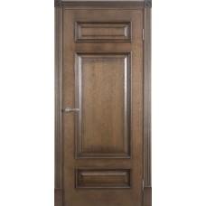 Дверь  шпонированная  Porte Vista Рим ДГ красный коньяк