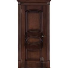 Дверь  шпонированная  Porte Vista Соло ДГ орех