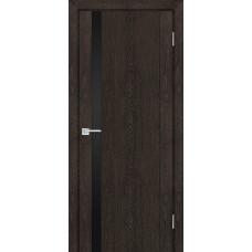 Дверь Profilo Porte PSN-10 ДО Фреско антико со стеклом Черный Лакобель