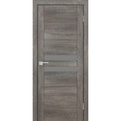 Дверь Profilo Porte PSN-4 ДО Гриджио антико со стеклом Серый Лакобель