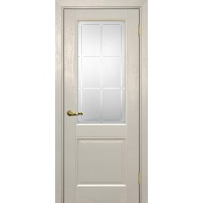 Дверь Profilo Porte PSU-27 ДО Бланжевое дерево со стеклом Сатинат