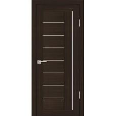 Дверь Profilo Porte PS-17 Венге мелинга со стеклом Сатинат