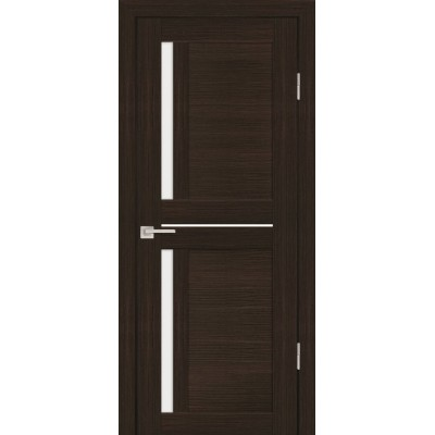 Дверь Profilo Porte PS-19 Венге мелинга со стеклом Сатинат