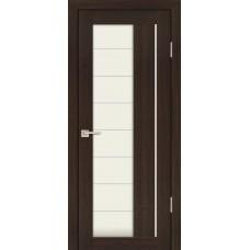 Дверь Profilo Porte PS-41 Венге мелинга со стеклом Сатинат