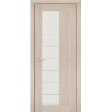 Дверь Profilo Porte PS-41 Капучино мелинга со стеклом Сатинат