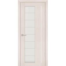 Дверь Profilo Porte PS-41 Эшвайт мелинга со стеклом Сатинат