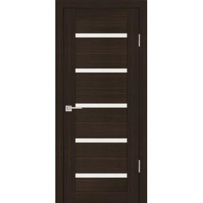 Дверь Profilo Porte PS-7 Венге мелинга со стеклом Сатинат