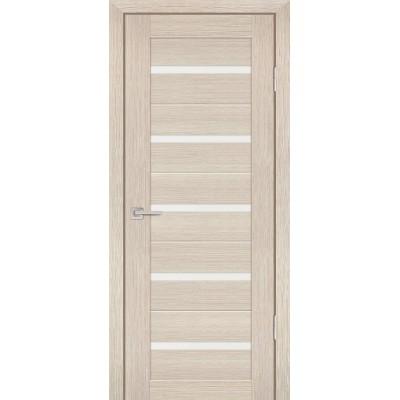 Дверь Profilo Porte PS-7 Капучино мелинга со стеклом Сатинат