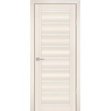 Дверь Profilo Porte PS-8 Перламутровый дуб со стеклом Сатинат