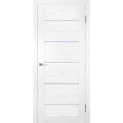 Дверь Profilo Porte PSC-48 ДO Белый со стеклом Белый Лакобель