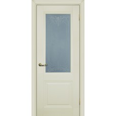 Дверь Profilo Porte PSC-27 ДO Магнолия со стеклом Сатинат